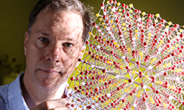 As a joint faculty appointee, David Mandrus conducts materials synthesis research at ORNL and the University of Tennessee. Photo by Charles Brooks.